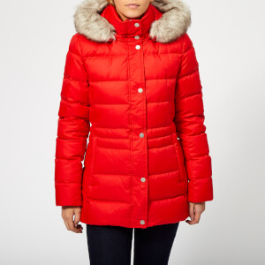Tommy Hilfiger Women's New Tyra Down Jacket - Flame Scarlet