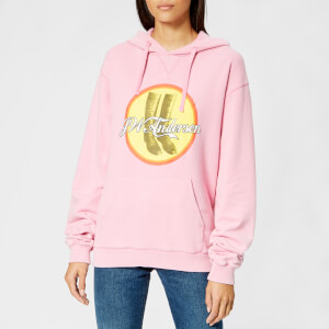 3257cd733e JW Anderson Women s JWA Cola Boots Hoody - Candy Floss