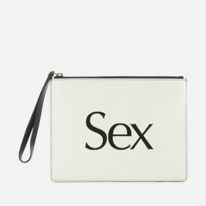 Christopher Kane Women's Sex Clutch - White
