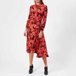 Whistles Women's Mackintosh Print Esme Dress - Red/Multi