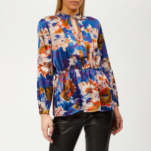 Whistles Women's Autumn Bloom Blouse - Multi