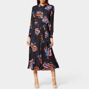 Whistles Women's Freya Print Shirt Dress - Black/Multi