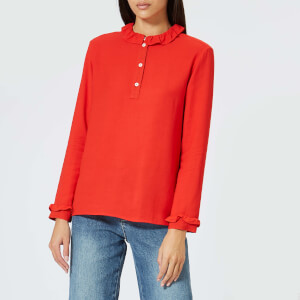 A.P.C. Women's Agathe Blouse - Red