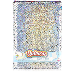Unicorn Sequin Notebook from I Want One Of Those