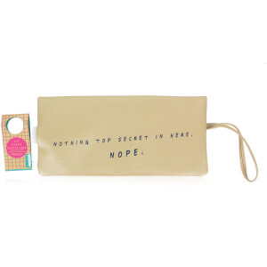 Time To Wine Down - Hip Flask Clutch