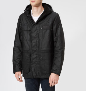 Barbour International Men's Imboard Wax Jacket - Black