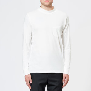 Universal Works Men's Jersey Turtle Neck Top - Ecru
