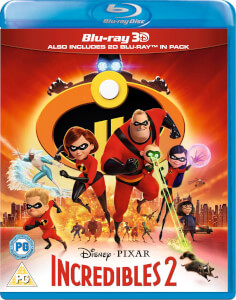 Incredibles 2 3D (Includes 2D Version)