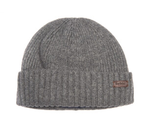 Barbour Men's Carlton Beanie Hat - Grey