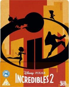 Los Increíbles 2 3D (incluye versión 2D) - Steelbook Exclusivo de Zavvi (Edición UK)