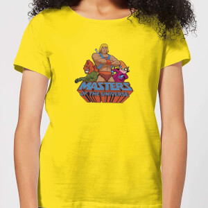T-Shirt Femme Masters Of The Universe Multi Character - Les Maîtres de l'univers - Rose
