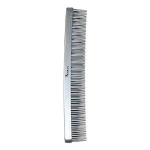 Denman Tame 'n' Tease Three-Row Comb - Silver (175mm)