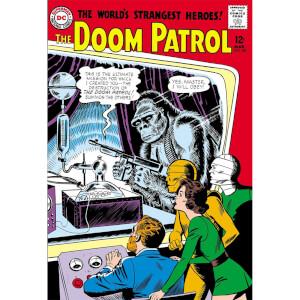 DC Comics Doom Patrol The Silver Age Omnibus Hardcover
