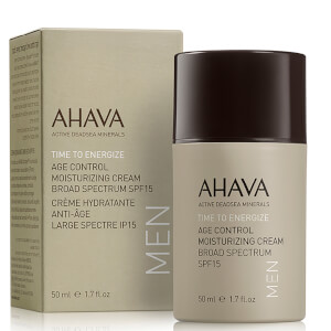 AHAVA Men Age Control Moisturizing Cream SPF 15 50ml