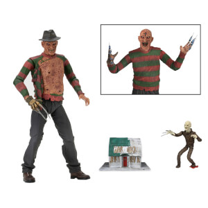 "Action figure di Freddy dal film ""Nightmare - I guerrieri del sogno"" - NECA - 18 cm"