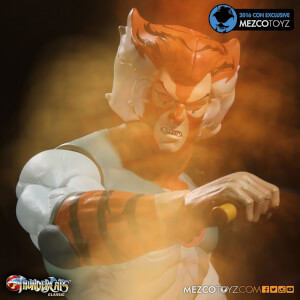 "Mezco ThunderCats Tygra 14"""" Mega-Scale Action Figure (Phasing Version) - SDCC 2016 Exclusive"