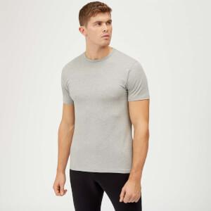 Myprotein Plain Grey Marl POD T-Shirt
