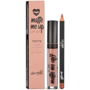Barry M Cosmetics Matte Me Up Lip Kit (Various Shades)
