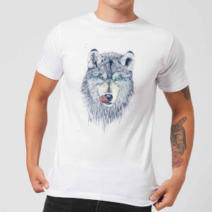 Balazs Solti Wolf Eyes Men's T-Shirt - White