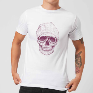 Balazs Solti Skull Men's T-Shirt - White