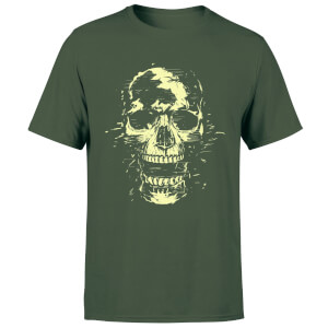 Balazs Solti Skull Men's T-Shirt - Forest Green