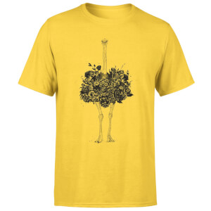Balazs Solti Ostrich Men's T-Shirt - Yellow