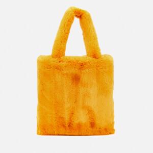 Whistles Women's Hattie Faux Fur Tote Bag - Mustard