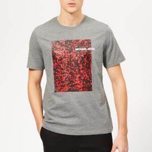 Michael Kors Men's Volcanic Print Graph T-Shirt - Ash Melange