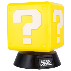 Super Mario Bros. Question Block Lamp