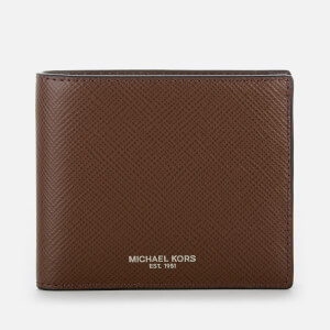 Michael Kors Men's Harrison Billfold Wallet - Mocha