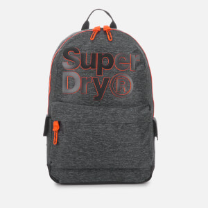 Superdry Men's Two-Tone Logo Montana Backpack - Grey Marl