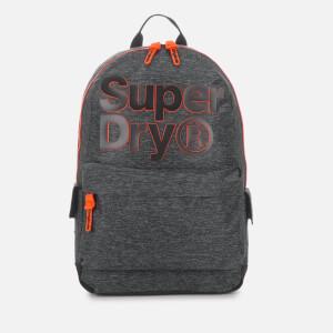 Superdry Men's Two-Tone Logo Montana Backpack - Grey Marl