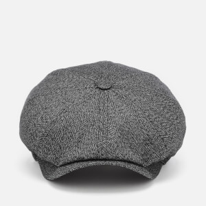 Ted Baker Men's Tspoon Herringbone Bakerboy Hat - Charcoal