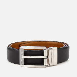 Ted Baker Men's Reva Reversible Textured Belt - Black