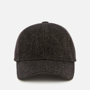 Ted Baker Men's Straina Herringbone Baseball Cap - Brown