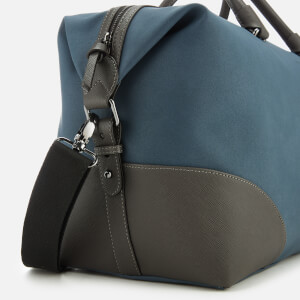 Ted Baker Men's Inferno Nubuck PU Holdall Bag - Blue: Image 4