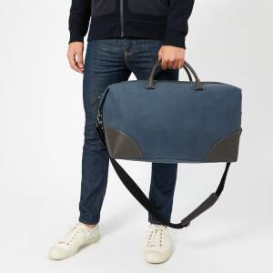 Ted Baker Men's Inferno Nubuck PU Holdall Bag - Blue: Image 3