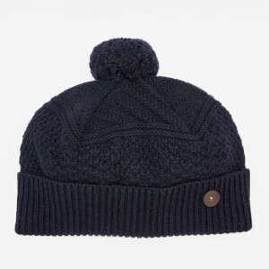 Ted Baker Men's Multhat Multi Stitch Hat - Navy