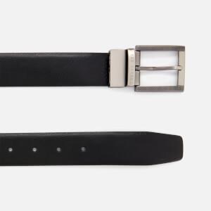 Ted Baker Men's Burrgs Belt in a Box - Black