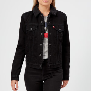 Levi's Women's Original Sherpa Trucker Jacket - Black