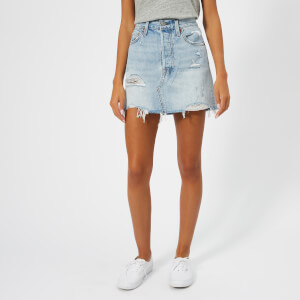 Levi's Women's Deconstructed Skirt - What's the Damage