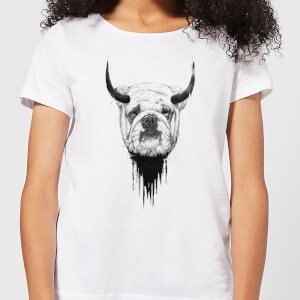 Balazs Solti English Bulldog Women's T-Shirt - White