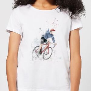 Balazs Solti Cycler Women's T-Shirt - White