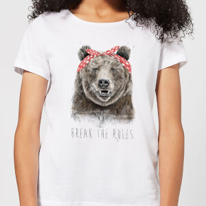 Balazs Solti Break The Rules Women's T-Shirt - White