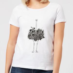 Balazs Solti Ostrich Women's T-Shirt - White
