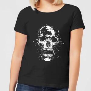 Skull Women's T-Shirt - Black