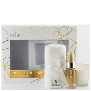 System Professional Luxe Oil, Candle & Turban Bundle (Free Gift)