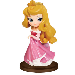 Banpresto Q Posket Petit Girls Festival Disney Sleeping Beauty Princess Aurora Figure 7cm