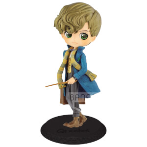 Banpresto Q Posket Fantastic Beasts and Where to Find Them Newt Scamander Figure 14cm (Pearl Colour Version)
