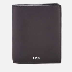 A.P.C. Men's Bianco Card Holder - Noir